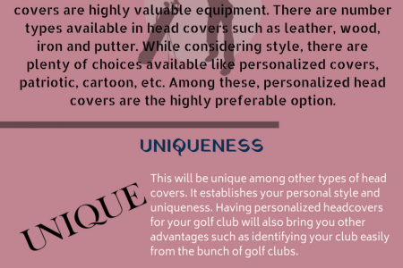Three Reasons to Prefer Personalized Golf Club Covers Infographic