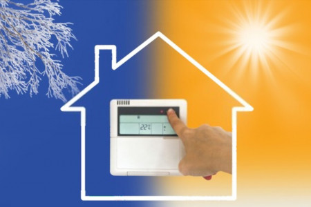Three Types of HVAC System for Home Infographic