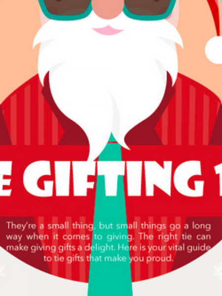Tie Gifting 101 Infographic