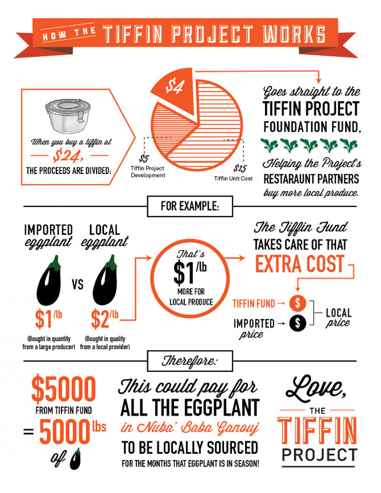 Tiffin Project How it Works 1 Infographic