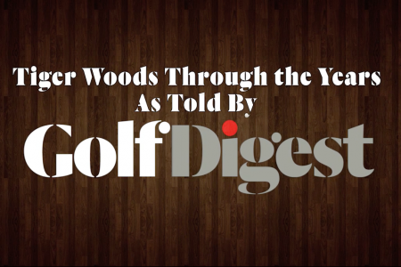 Tiger Woods Through the Years As Told By Golf Digest Infographic