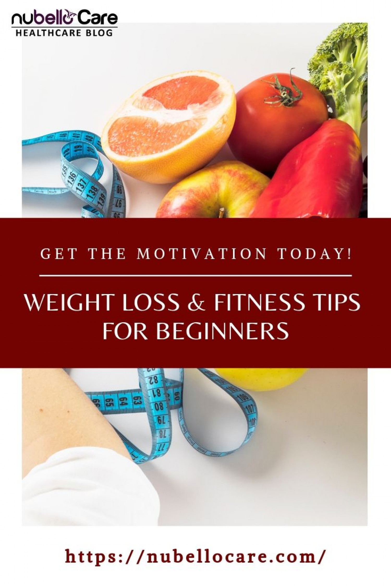 Time to get motivated and begin the journey of fitness  Infographic