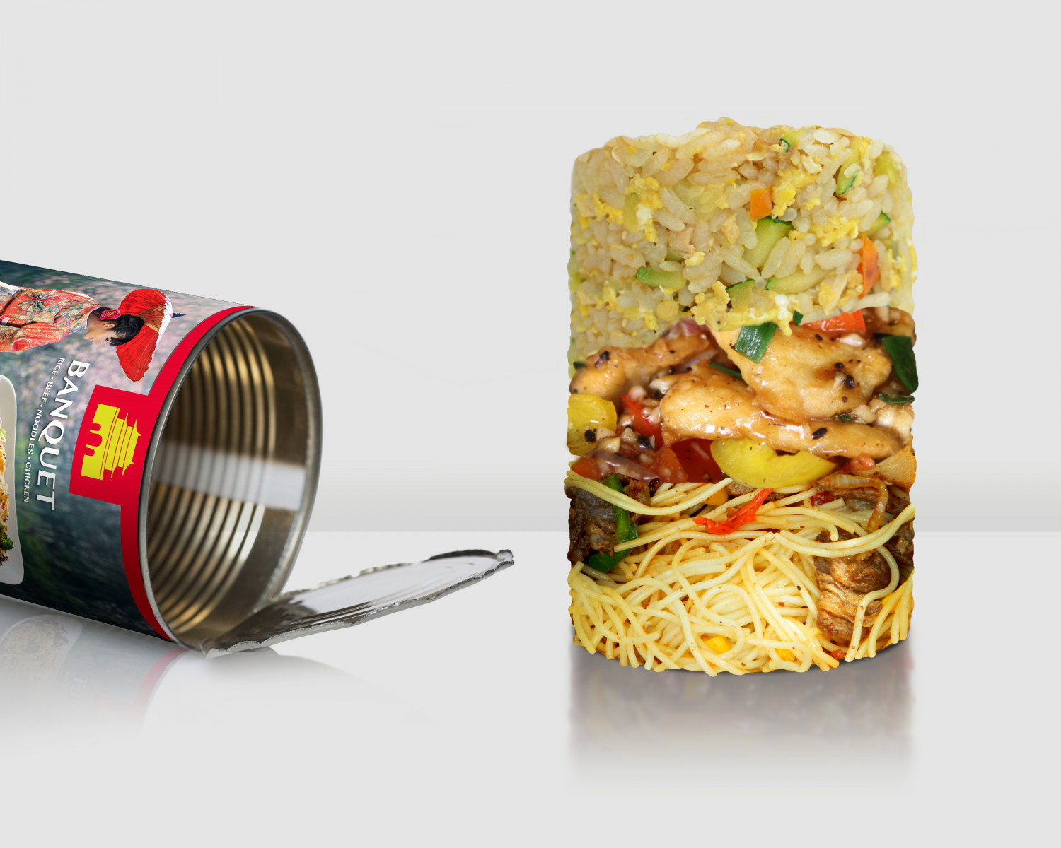 Tinned Chinese Takeaway Infographic