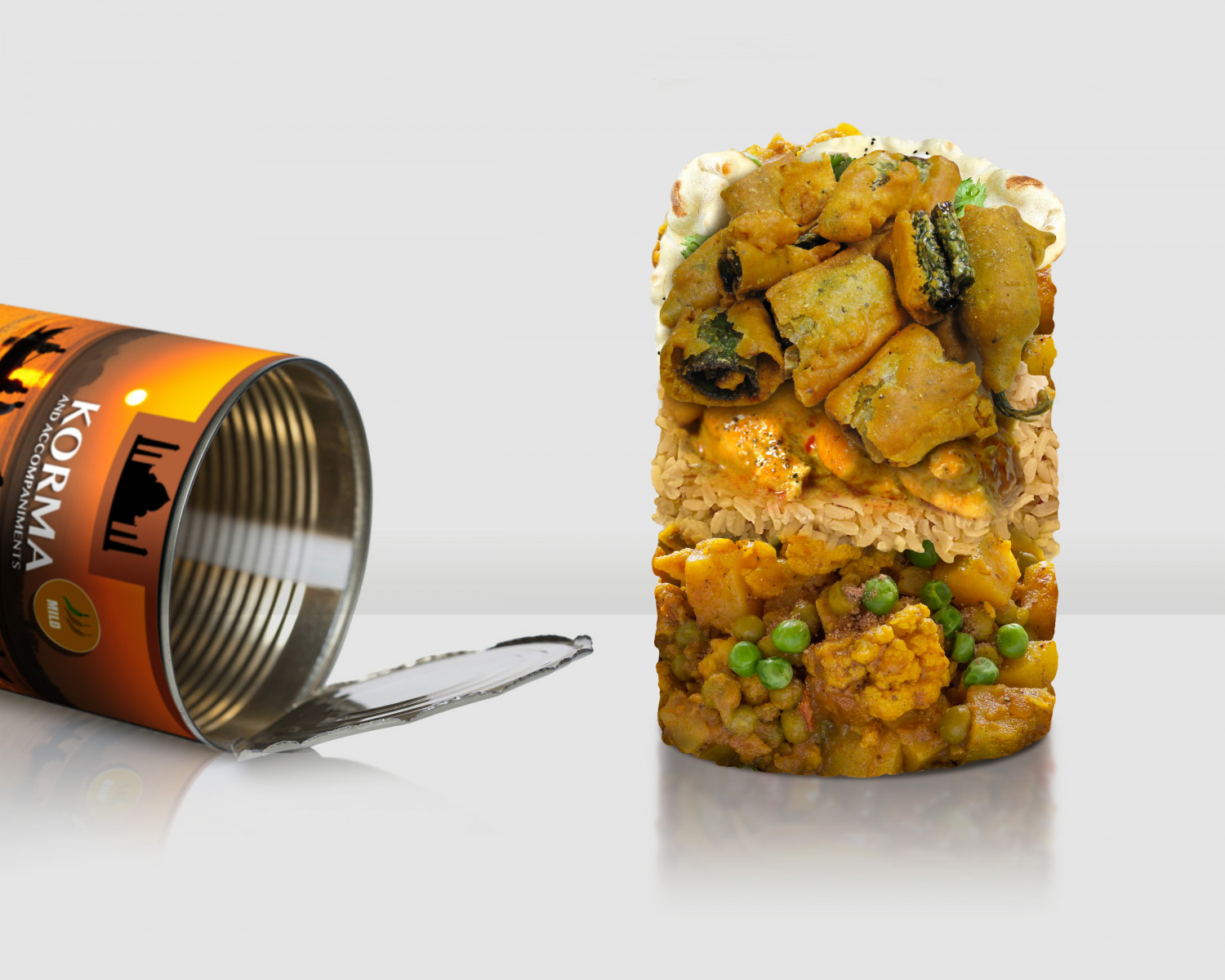 Tinned Curry Infographic