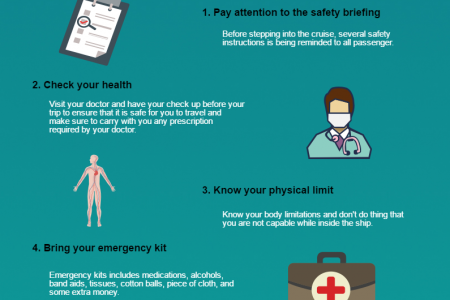 Tips for a safety cruise trip Infographic