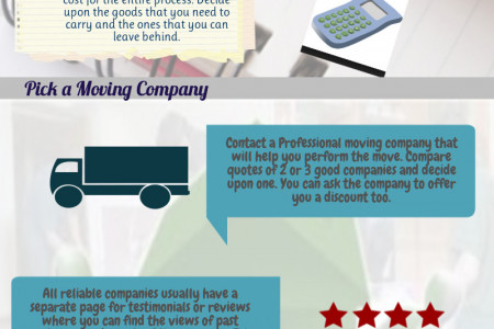 Tips for a Stress Free Office Relocation Infographic