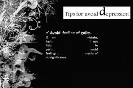 Tips for avoid becoming Depressed Infographic