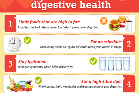 Tips For Better Digestive Health Infographic