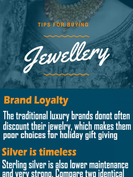 Tips For Buying Jewellery Infographic
