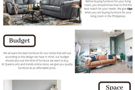 Tips For Choosing A living room furniture For Your Home Infographic