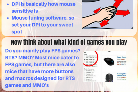 Tips for Choosing Gaming mouse for Small Hands Infographic