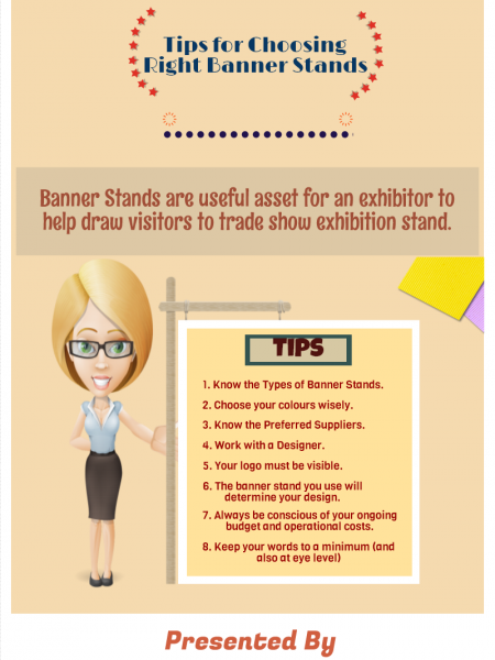 Tips for Choosing Right Banner Stands Infographic