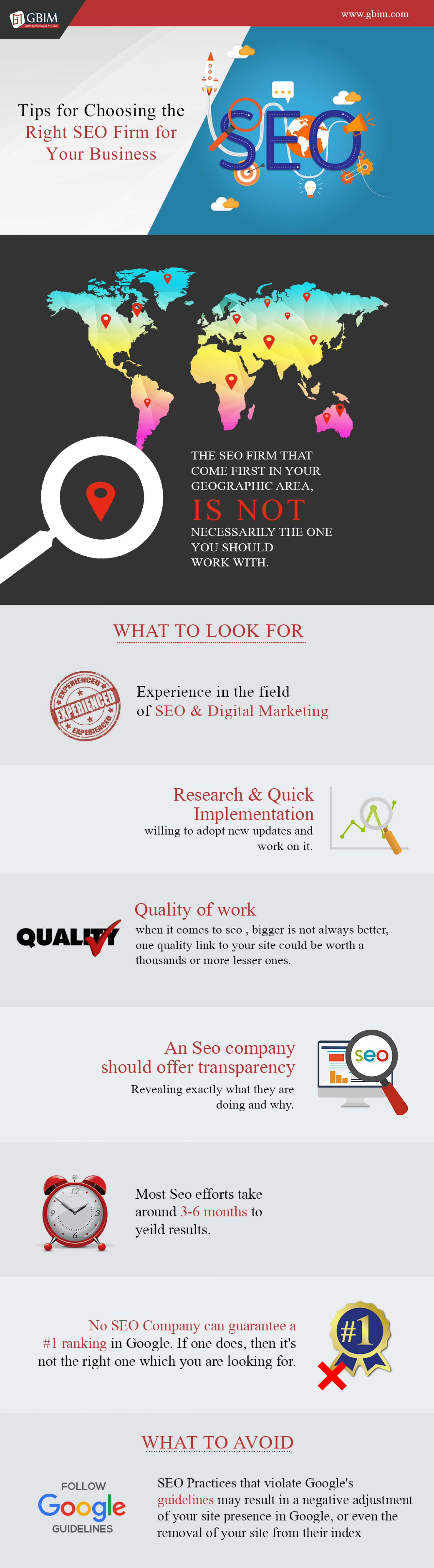 Tips For Choosing Right SEO Partner For your Business!  Infographic