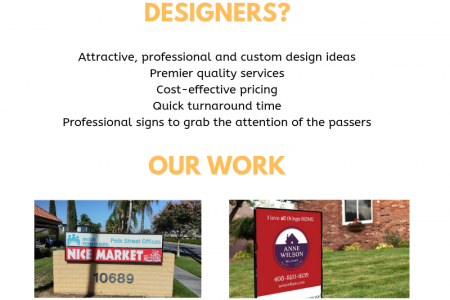 Tips for creating awesome real estate yard sign Infographic