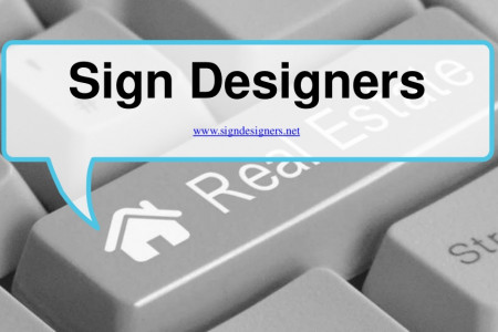 Tips for designing a real estate sign for your property advertisement Infographic