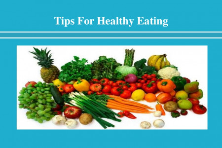 Tips for Healthy Eating Infographic