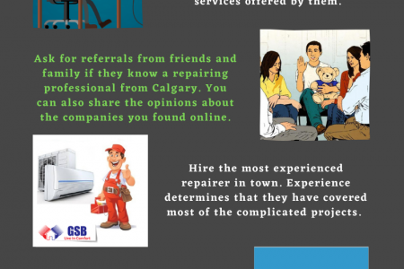 Tips For Hiring The Best Furnace And Air Conditioning Technician  Infographic