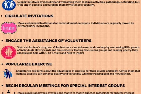 Tips for Increasing Participation in Activities in Nursing Home  Infographic
