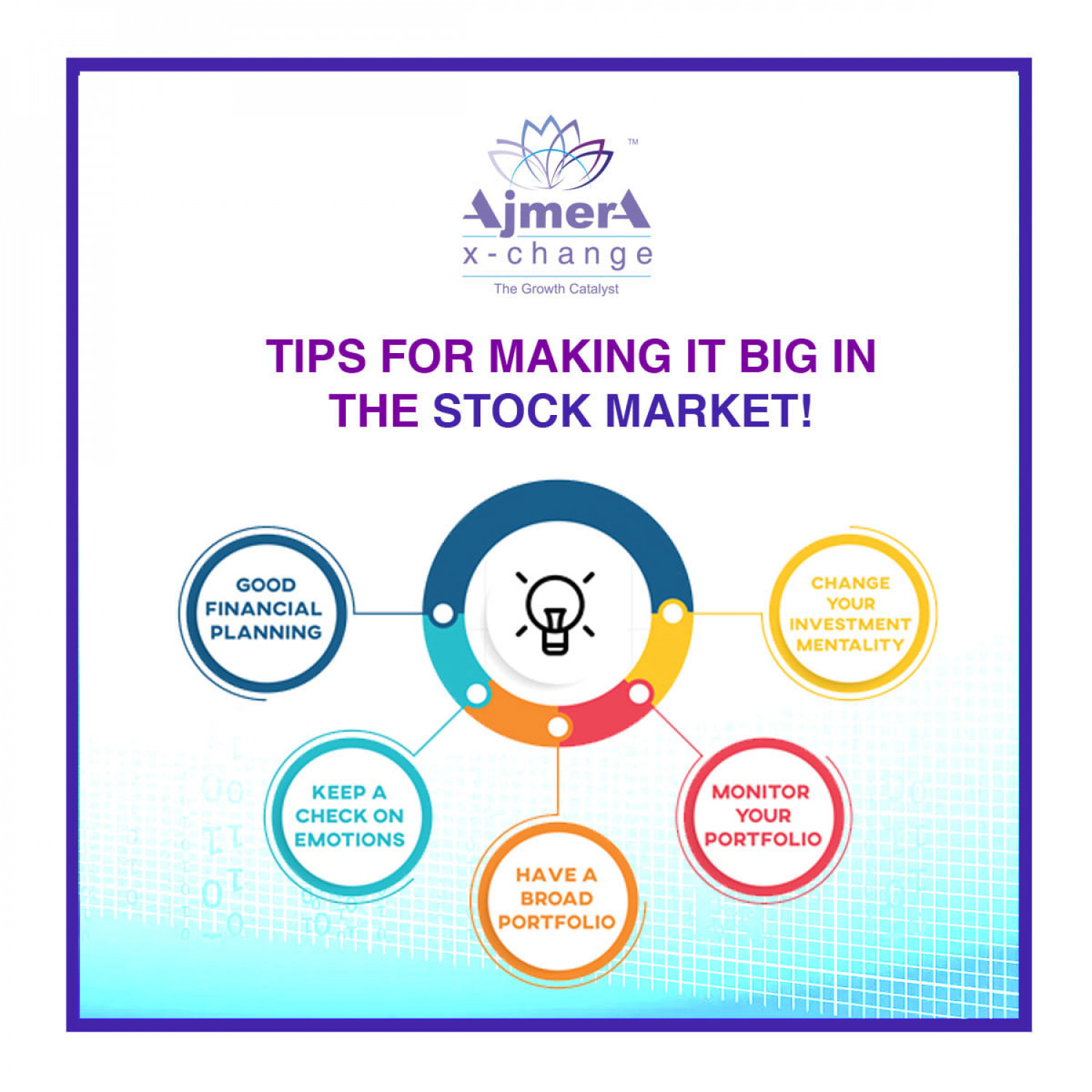 Tips for Making it Big in Stock Market! Infographic