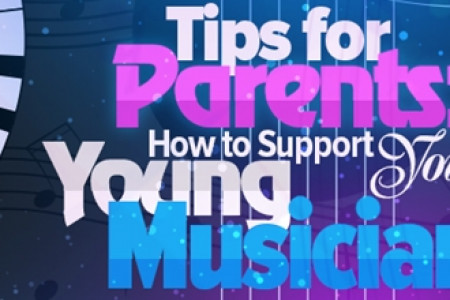 Tips for Parents: How to Support Your Child in Music Lessons Infographic