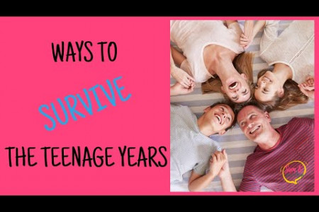 Tips for Parents with Teenagers - How to Survive the Teen Years! Infographic
