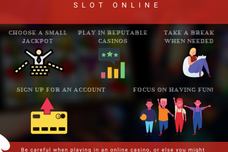 Tips For Playing A Game Slot Online Infographic