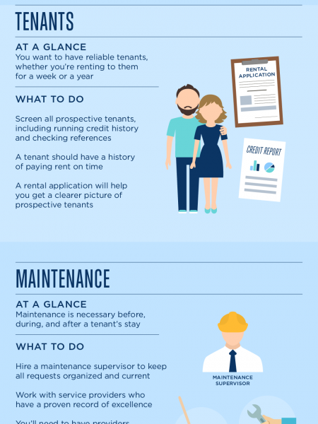 Tips for Property Management Companies Infographic