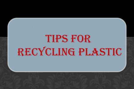 Tips for Recycling Plastic Infographic
