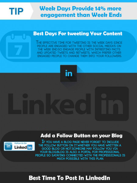 Tips to get more traffic through Social Media Marketing Infographic