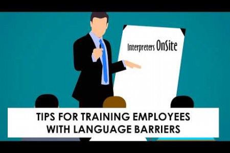 Tips for Training Employees with Language Barriers Infographic