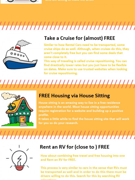 Tips for Travel Solo Infographic