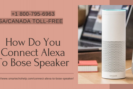 Tips How to Connect Bose Speaker to Echo Dot/Alexa 1-8007956963 Infographic