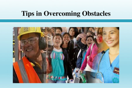 Tips in Overcoming Obstacles Infographic