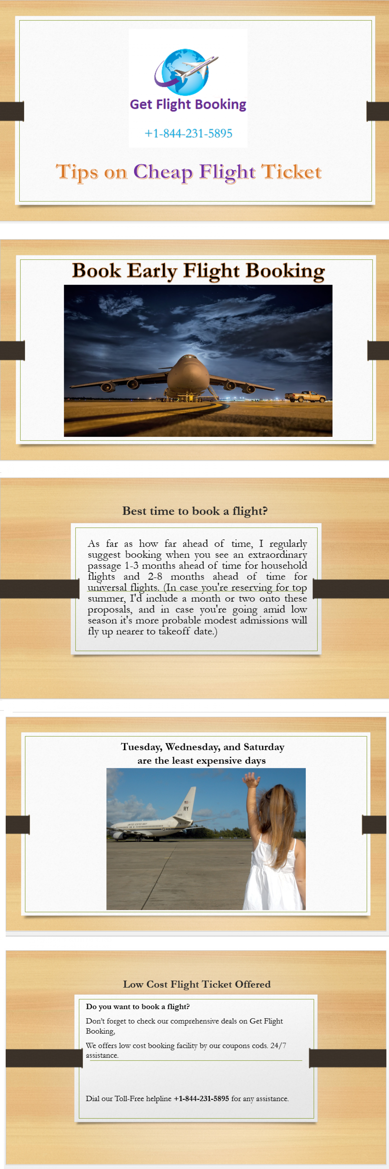 Tips on Cheap Flight Booking +1-844-231-5895 Flight Booking Online Infographic