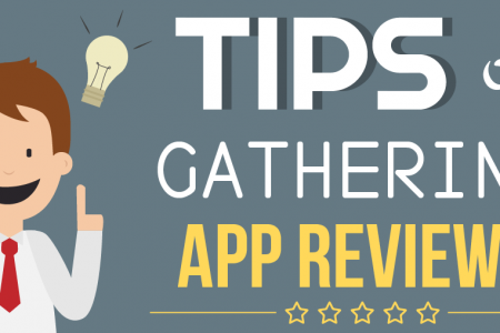Tips on Gathering App Reviews Infographic
