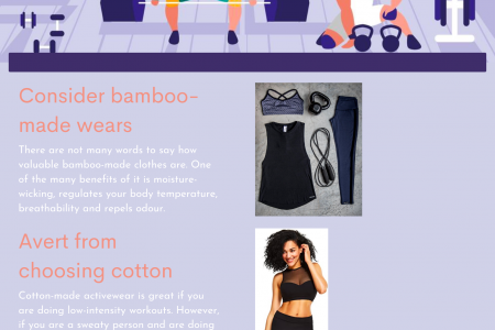 Tips On How To Choose The Right Workout Clothes Infographic