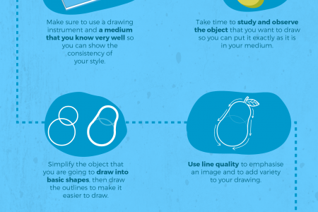 Tips on How to Improve Your Drawing Skills Infographic