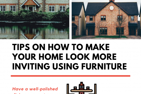 Tips on How to Make Your Home Look More Inviting Using Furniture Infographic