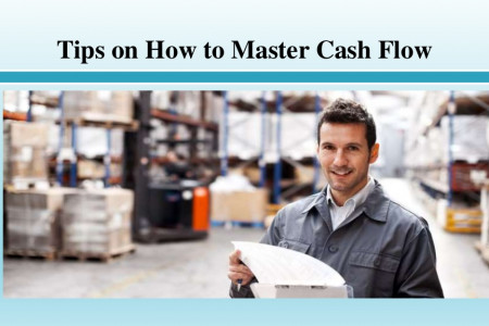 Tips on How to Master Cash Flow Infographic