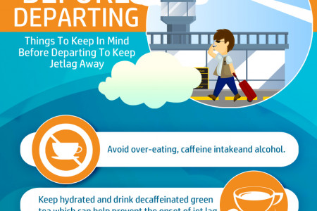 Tips to Avoid Jet Lag while Traveling Overseas Infographic