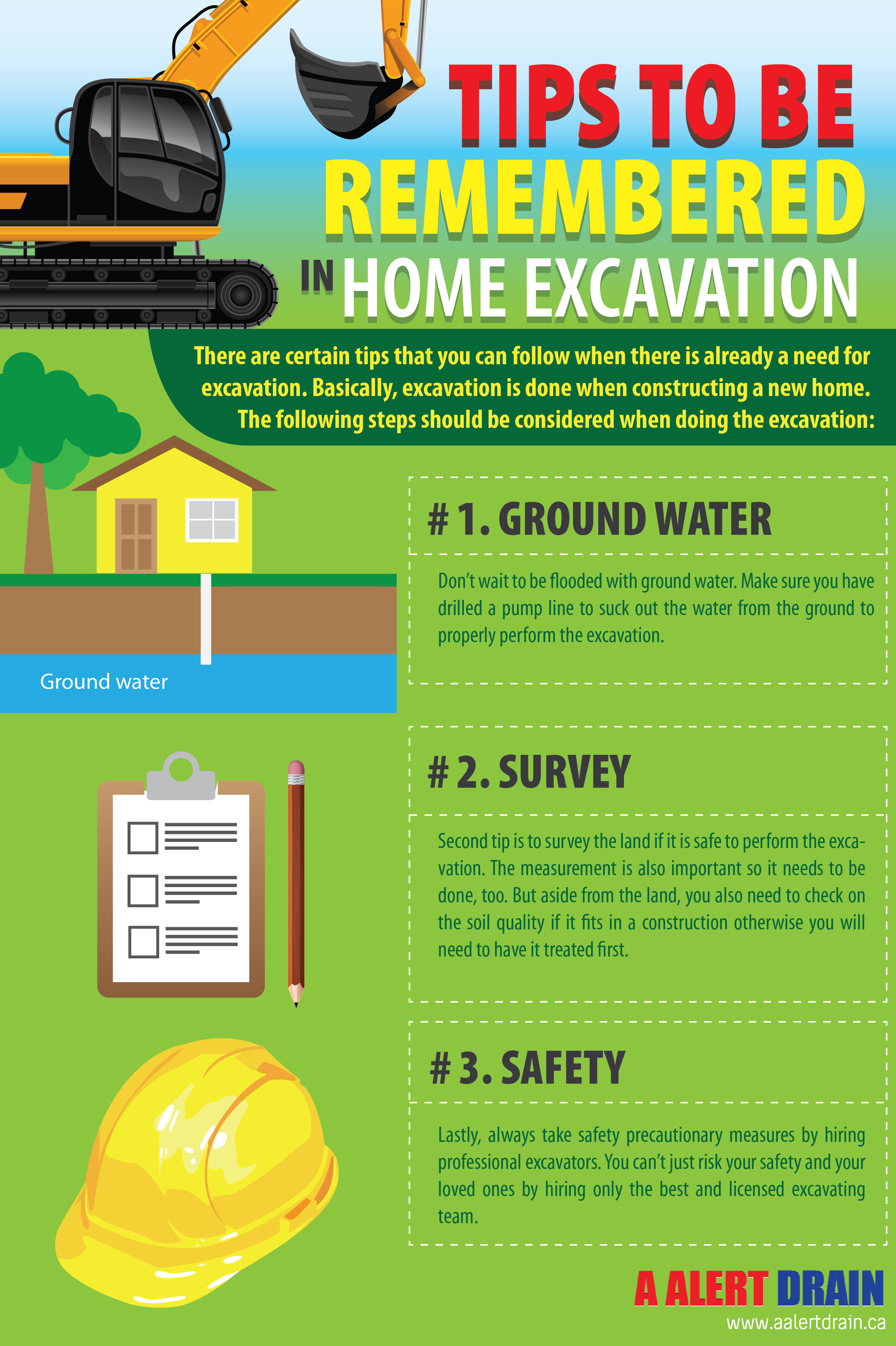 Tips To Be Remembered In Home Excavation Visual Ly