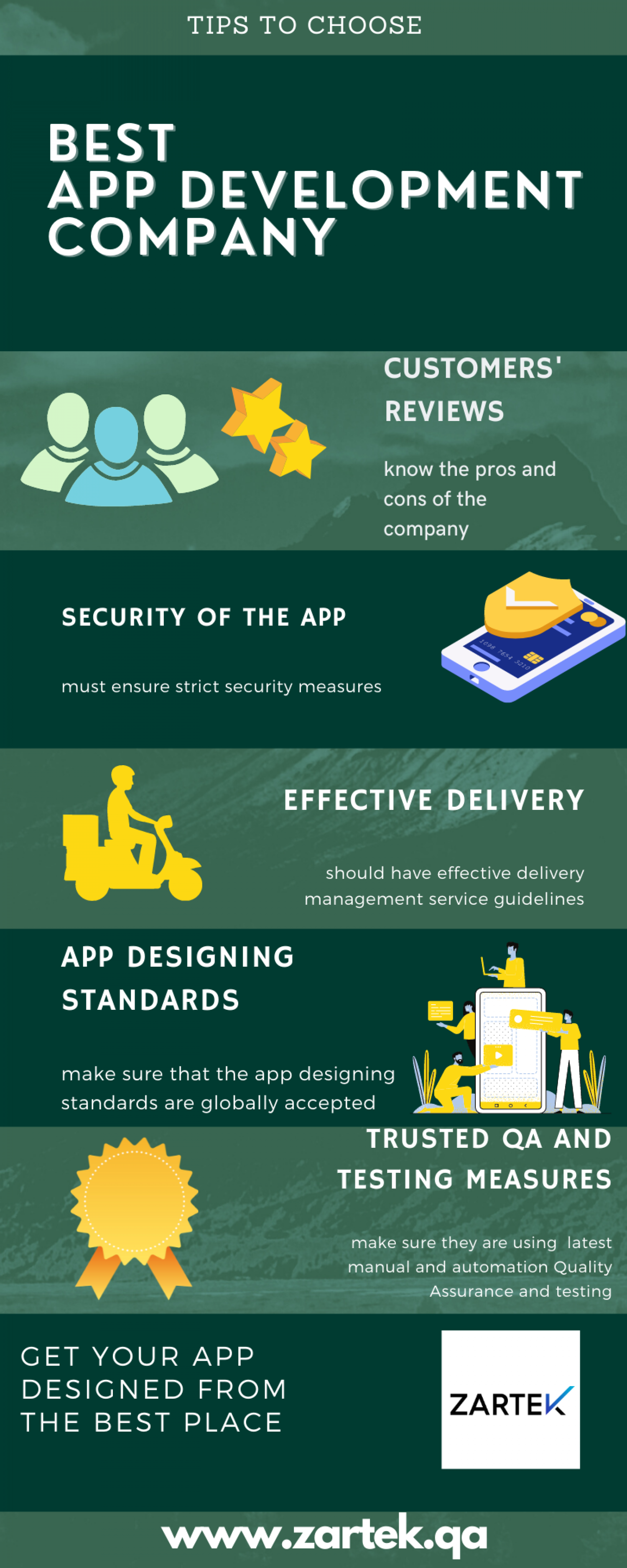 Tips to choose best mobile app development company  Infographic