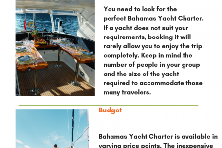 Tips to Consider for The Best Yacht Charters Infographic