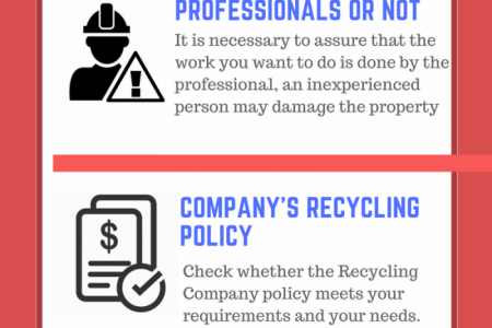TIPS TO CONSIDER WHILE CHOOSING BEST RECYCLING COMPANY Infographic