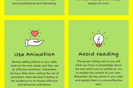 Tips to enhance PowerPoint presentation Infographic