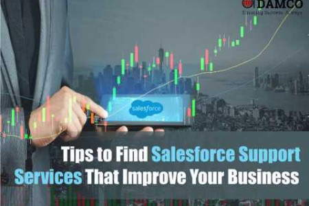 Tips to Find Salesforce Support Services That Improve Your Business Infographic