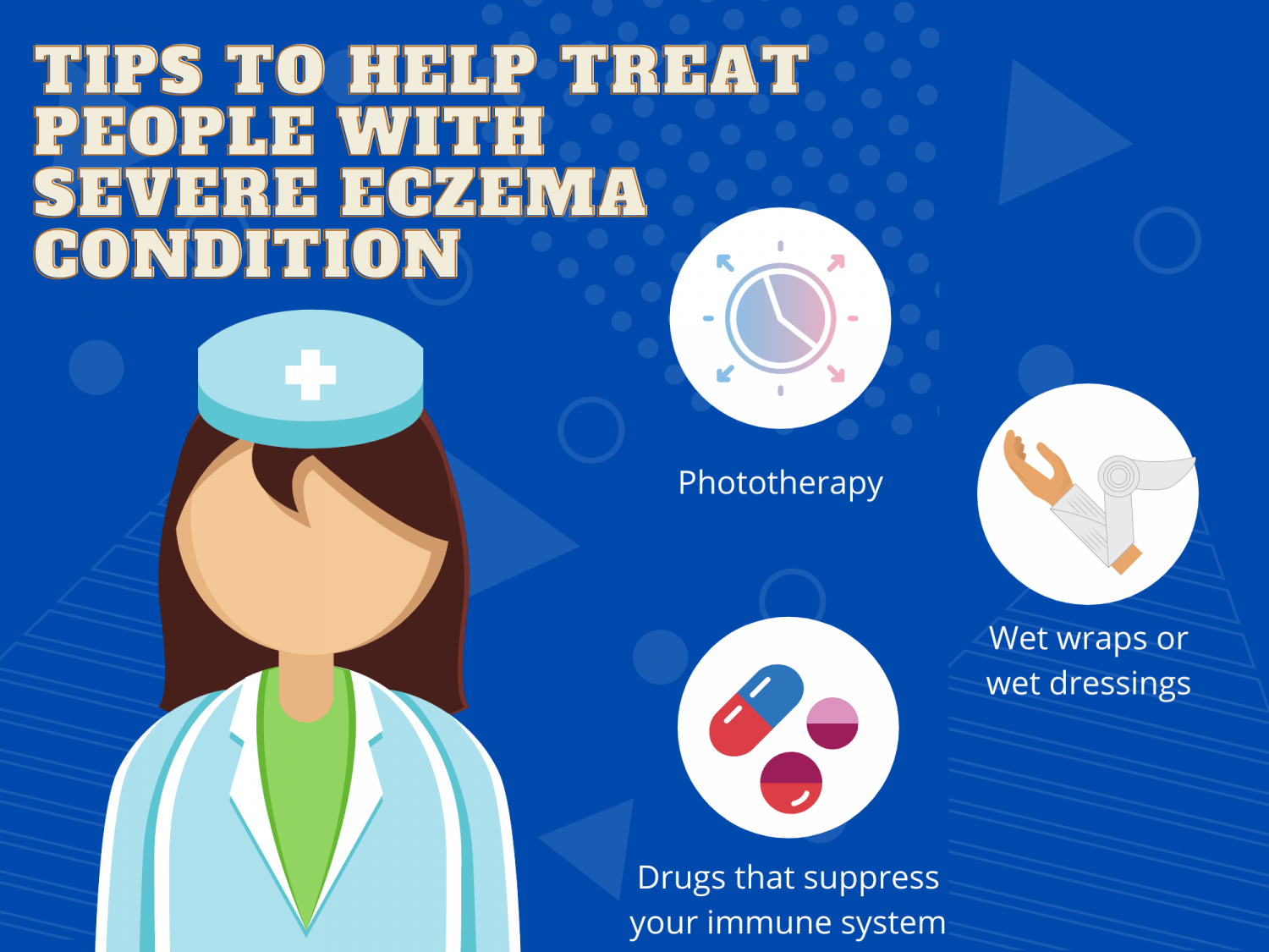 Tips To Help Treat People With Severe Eczema Condition Infographic