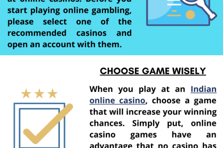 Tips to Increase the Winning Chances in Online Casino Games Infographic