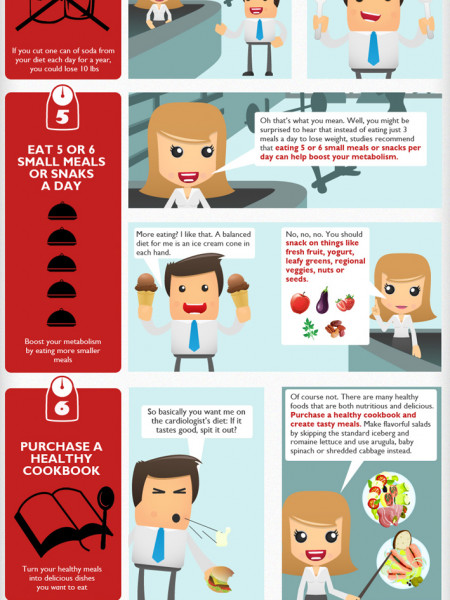 Stop Making Excuses: Tips on how to Lose Weight Infographic