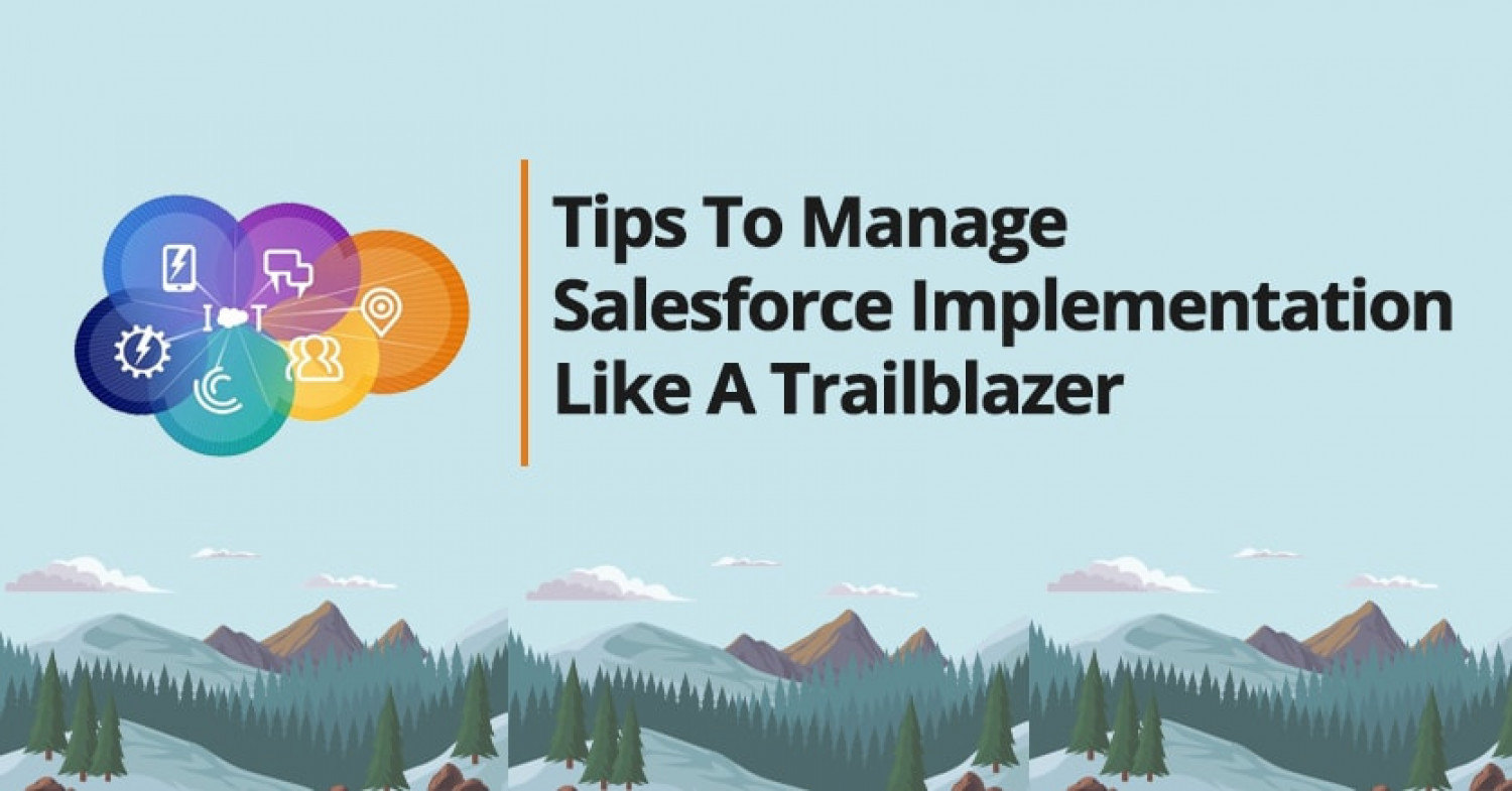 Tips To Manage Salesforce Implementation Like A Trailblazer Infographic